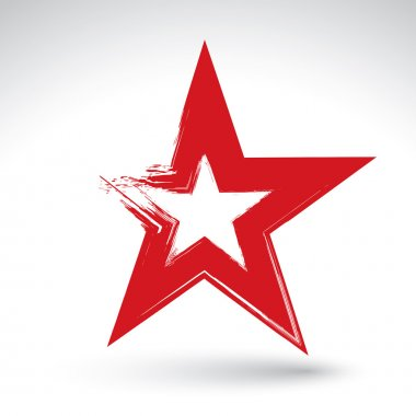 Soviet red star icon