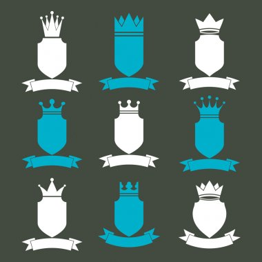 Collection of empire  elements.