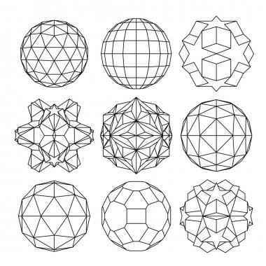 Collection of dimensional spheres
