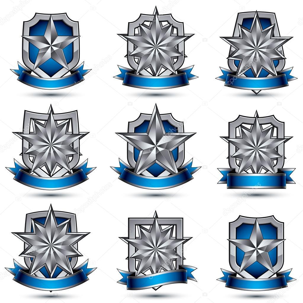 icones prateados