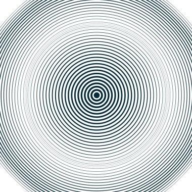 Moire pattern, op art background