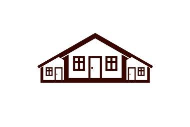 Real estate creative emblem