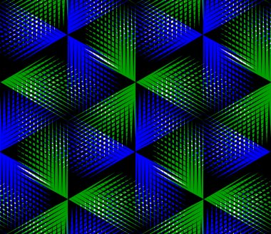 Background with 3d geometric figures