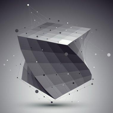Contemporary techno stylish construction