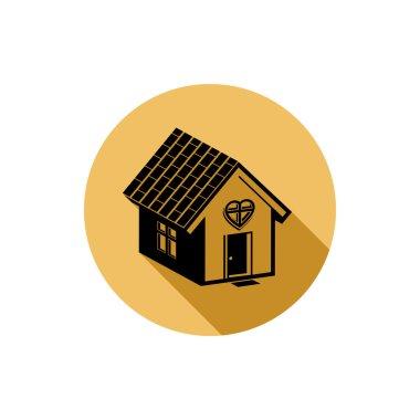 Home symbol, estate agency theme