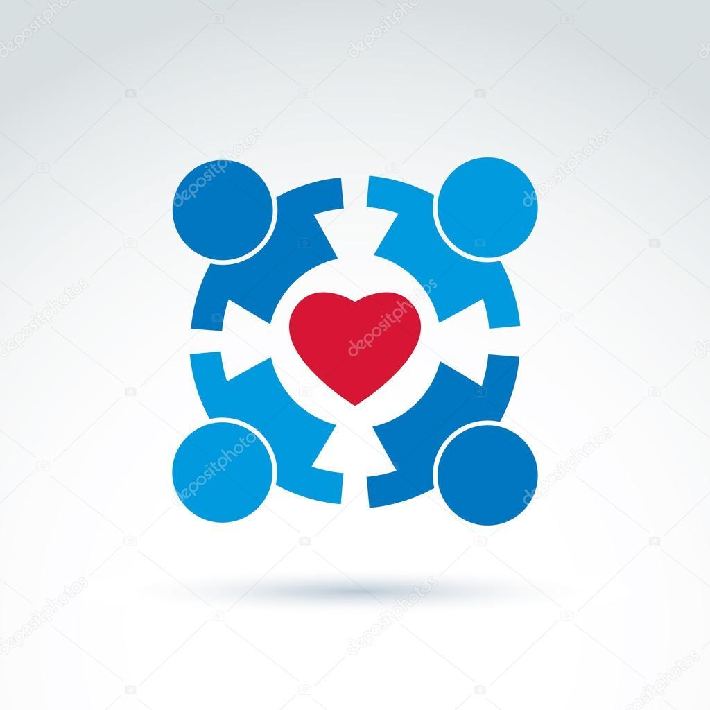 Round family consultation symbol