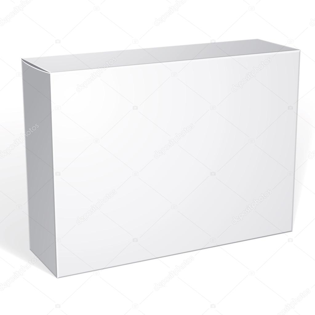 package white box design stock vector ostapius 81022876
