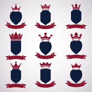 Collection of empire design elements