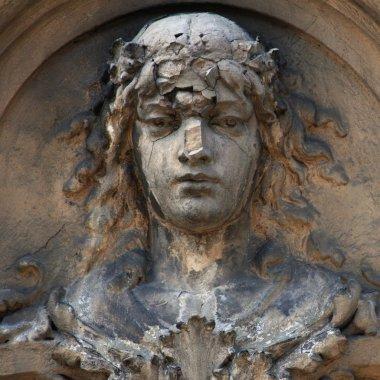 The goddess of love Aphrodite (Venus) ancient statue