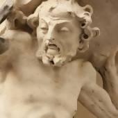 Statue von Sisyphos