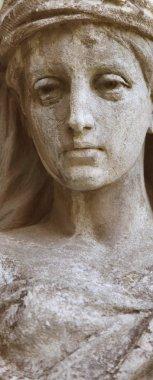 The goddess of love Aphrodite (Venus) (fragment)