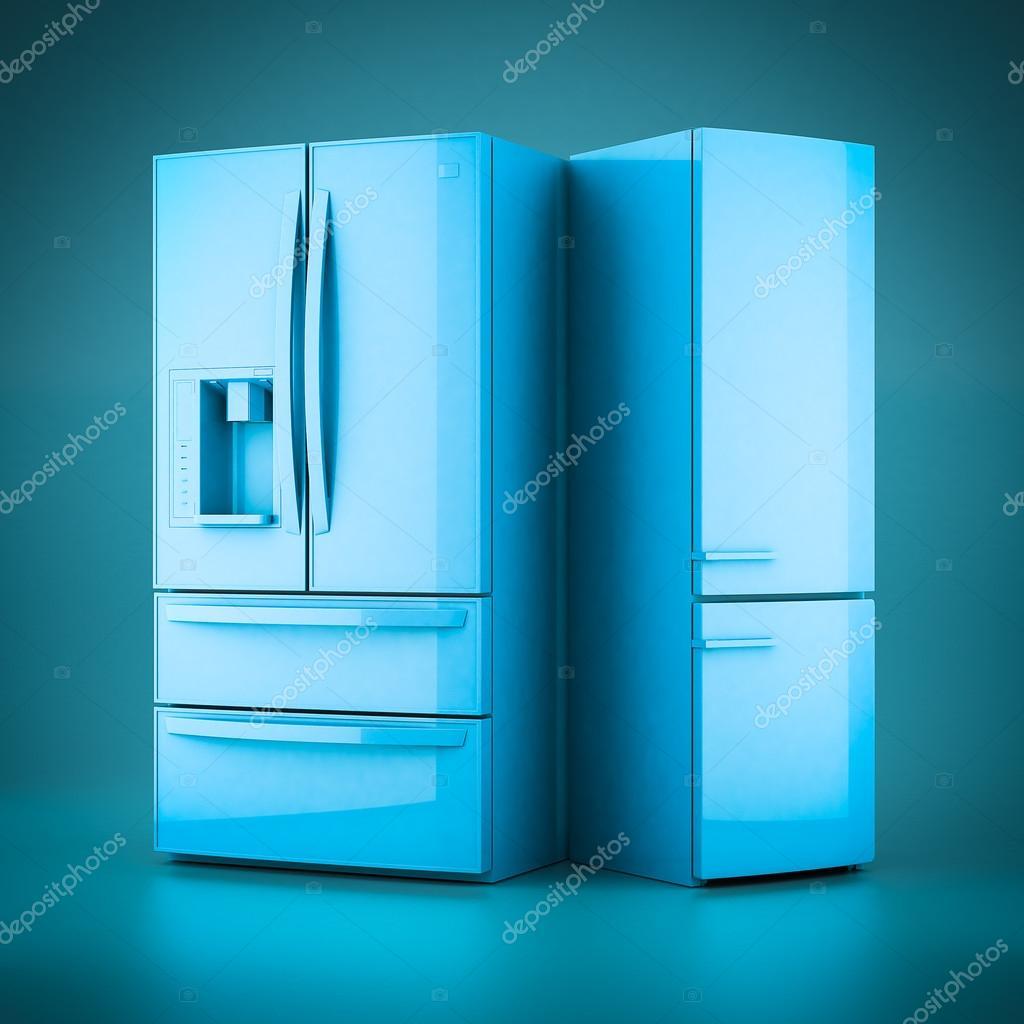 3D Rendern schöne Kühlschrank — Stockfoto © MrGarry #105593308
