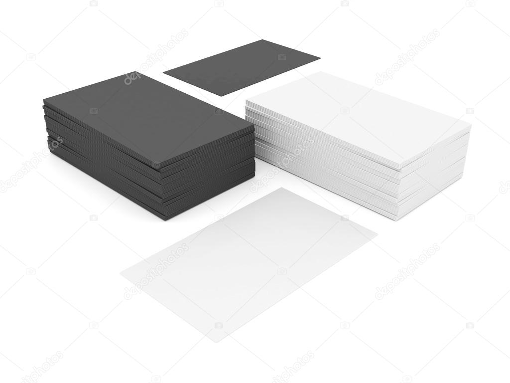 Business cards blank stock photo mrgarry 53934203 business cards blank mockup template white background photo by mrgarry reheart Image collections