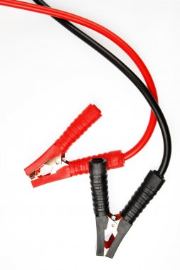 Two jumper cables