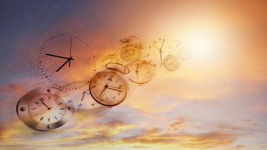 Time flies idea
