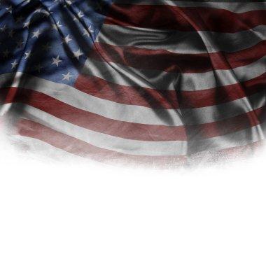 Silky American flag