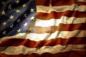 grunge americká vlajka