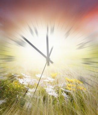 Time blurred