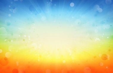 Bright background