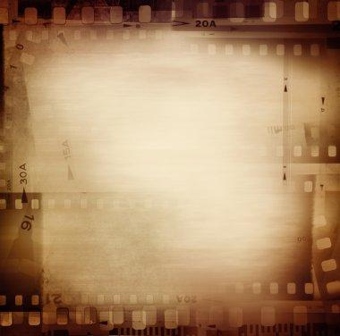 Film frames border
