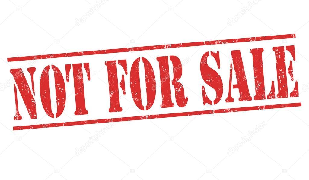 Not For Sale >> Degil Satis Kase Stok Vektor C Roxanabalint 114830446