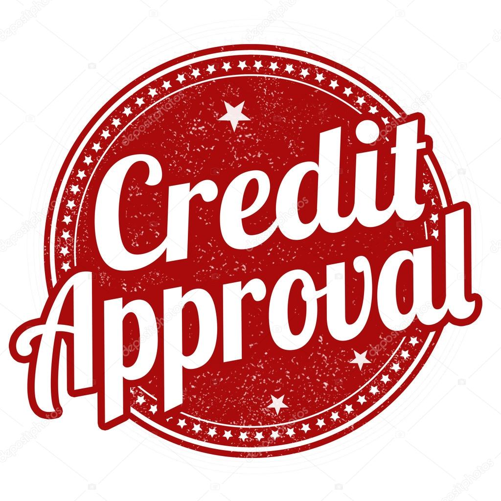 credit approval stamp stock vector roxanabalint 117776018