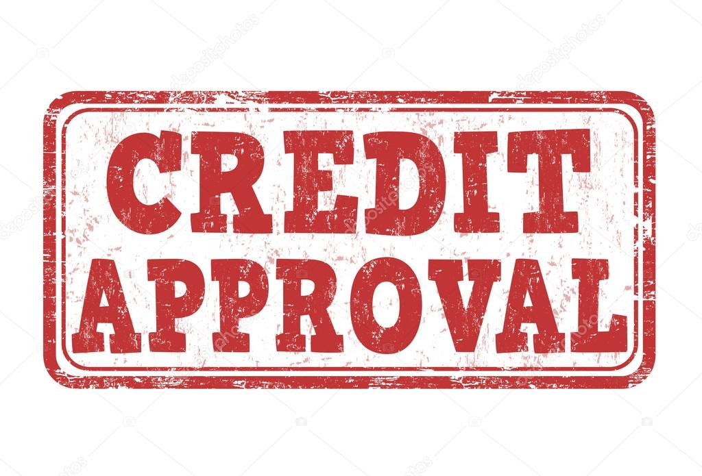credit approval stamp stock vector roxanabalint 117814620