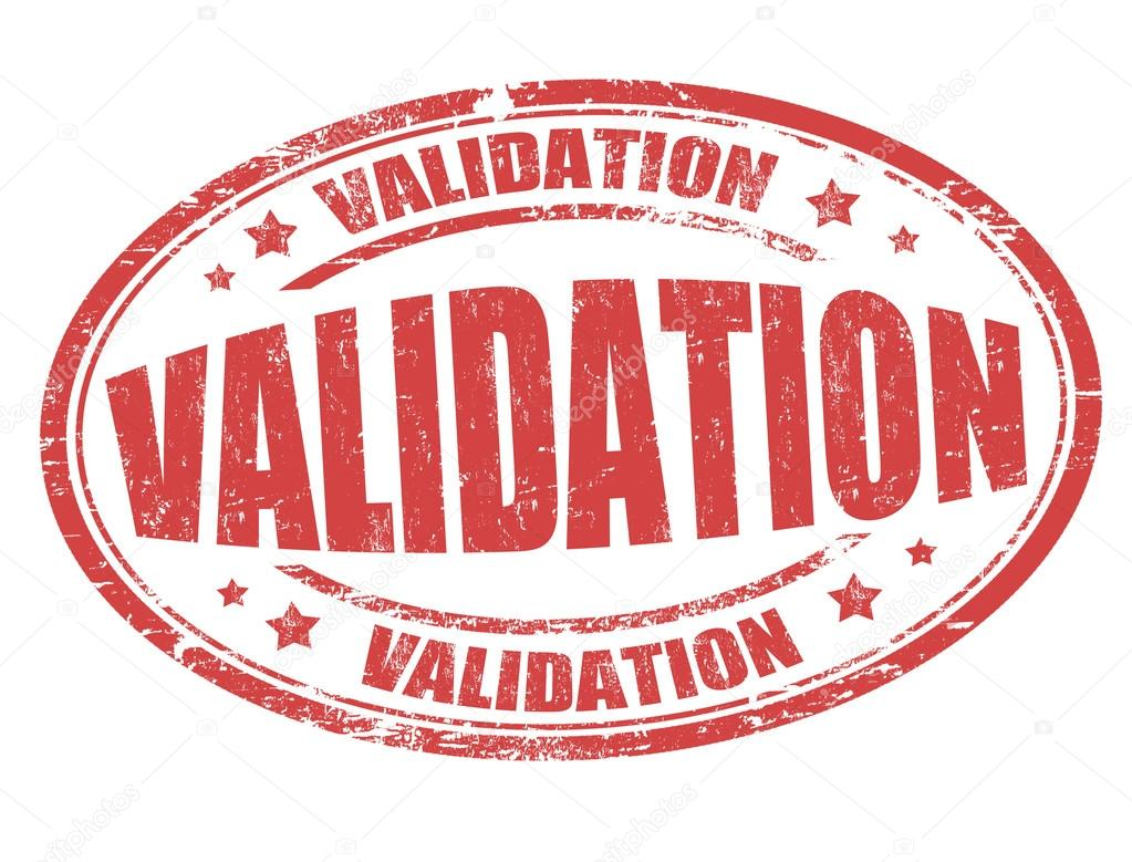 Validation Sign Or Stamp Stock Vector