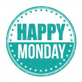 Happy Monday-Stempel