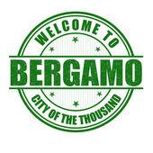 Fotografia Benvenuti al timbro di Bergamo