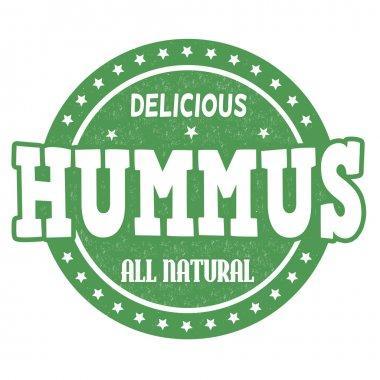 Hummus stamp