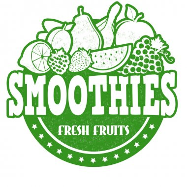 Smoothies stamp