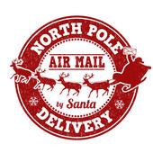 Északi-sark szállítási bélyegző