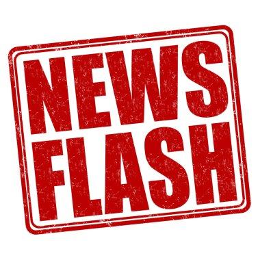 News flash stamp