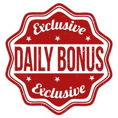Daily bonus stamp