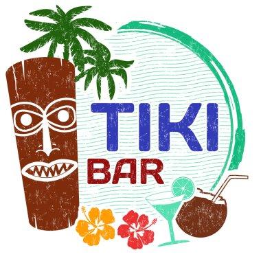 Tiki Bar stamp