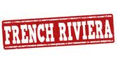 Francouzská Riviéra razítko