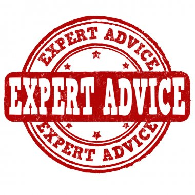 Expert advice stamp
