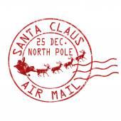 Santa Claus air mail bélyegző