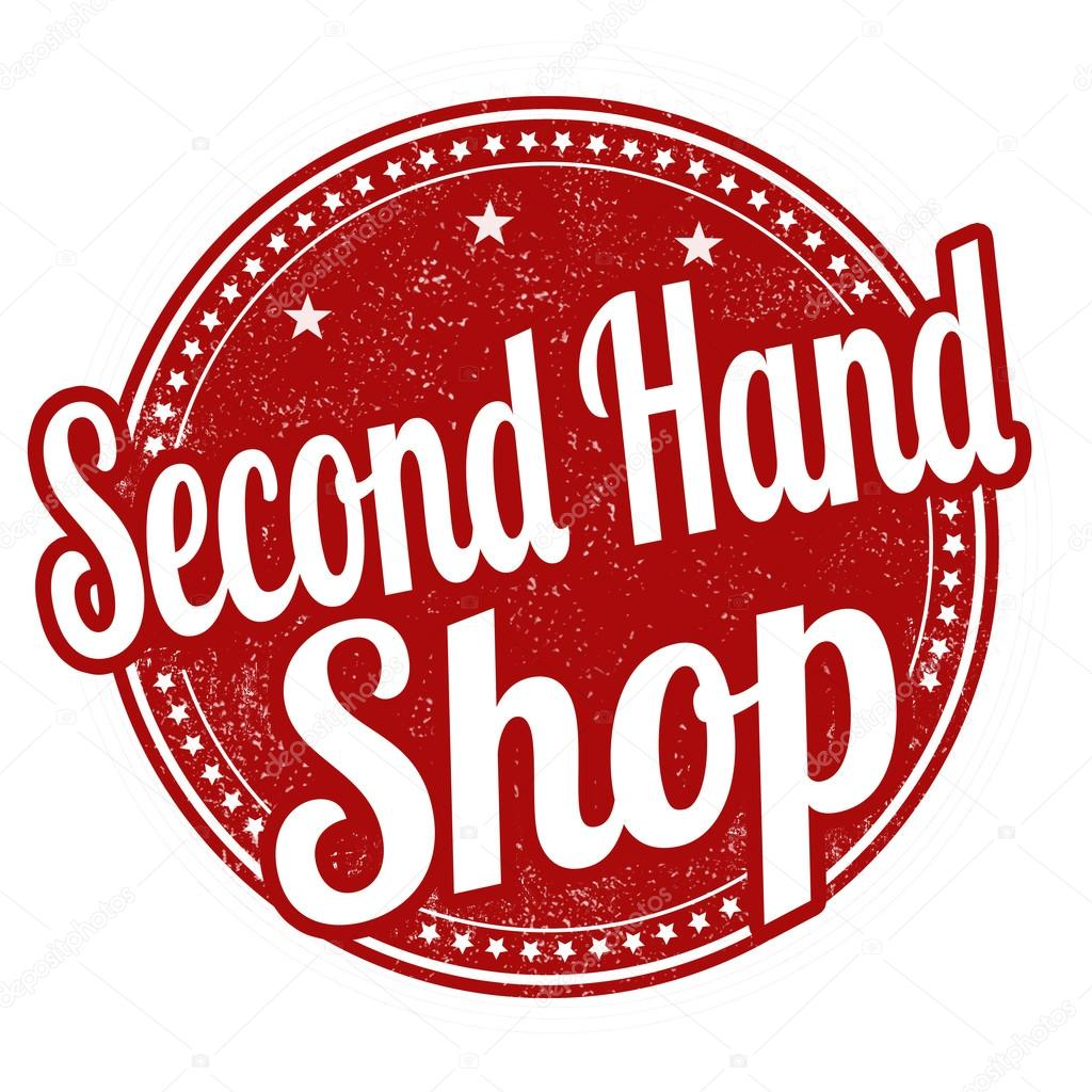 Second hand shop stamp — Stock Vector © roxanabalint #99508106
