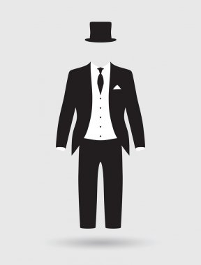 Grooms suit and jacket outfit
