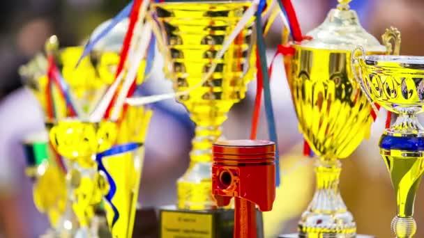 Csésze a nyerteseknek. Kiállítás hangolt autók