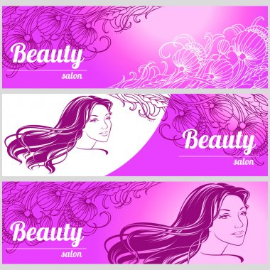 Design business card for hair and beauty salon