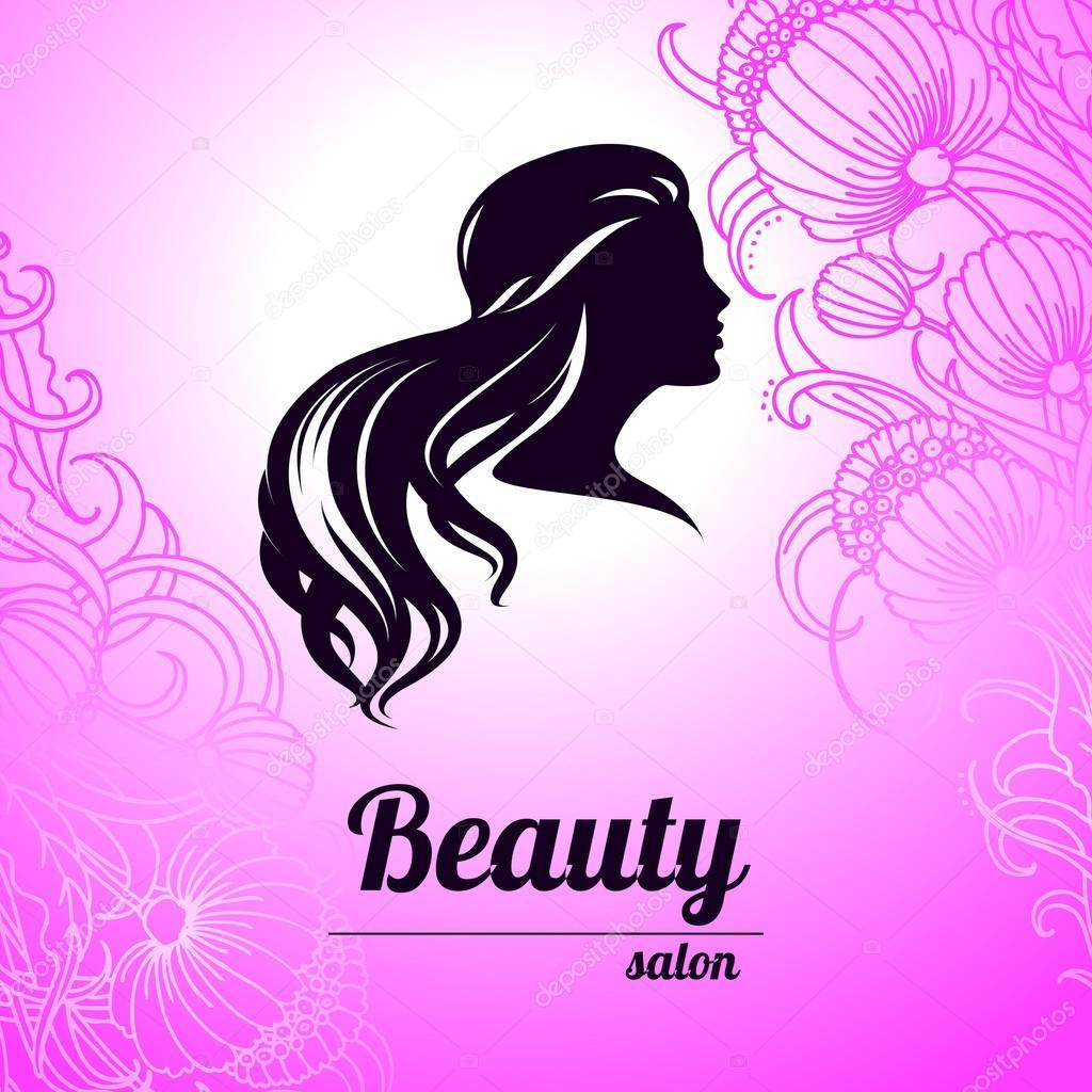 Design business card for hair and beauty salon — Stock Vector ...