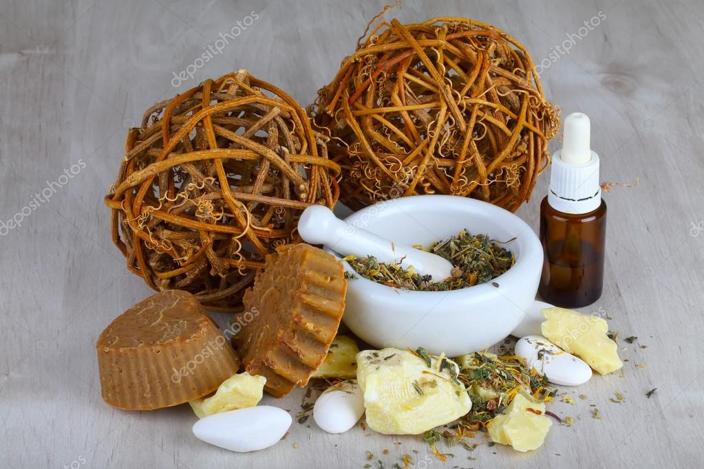 Natural cosmetics and soaps