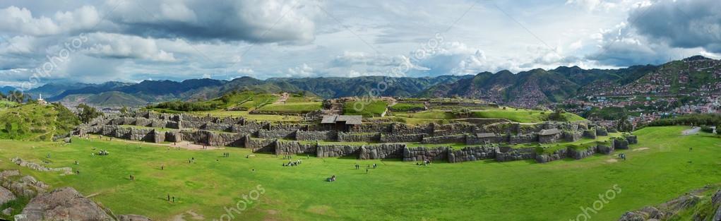 Inca ruins in Cusco
