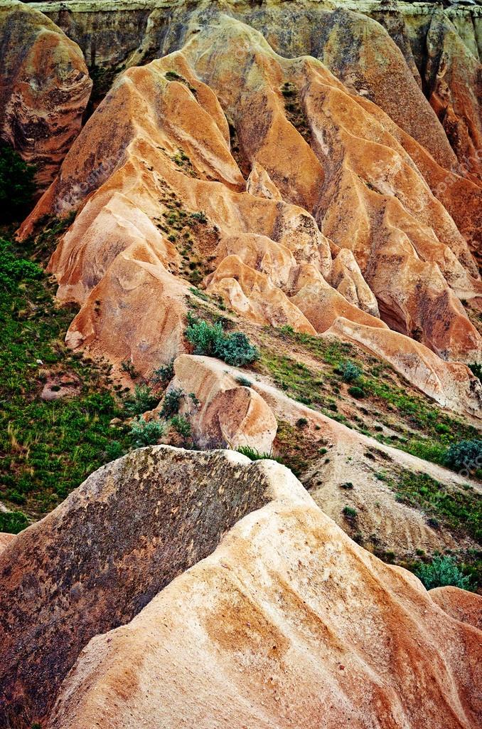 mountains landscape in Cappadocia