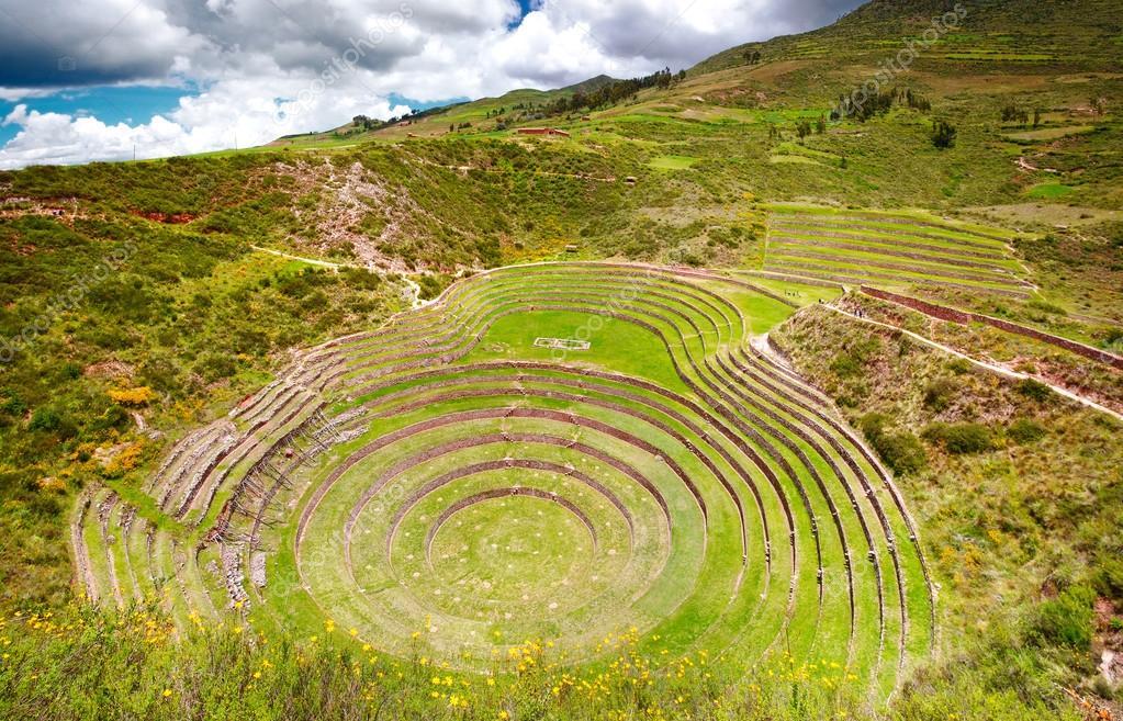 Fotos Moray Cusco Andenes De Moray Cusco Foto De Stock