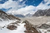 Ngozumba ledovec v Nepálu