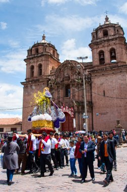 Religious  holiday in Cuzco, Peru